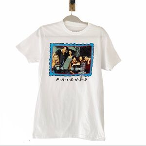 Friends White T-Shirt Small